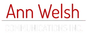 Ann Welsh Communications Inc. Logo